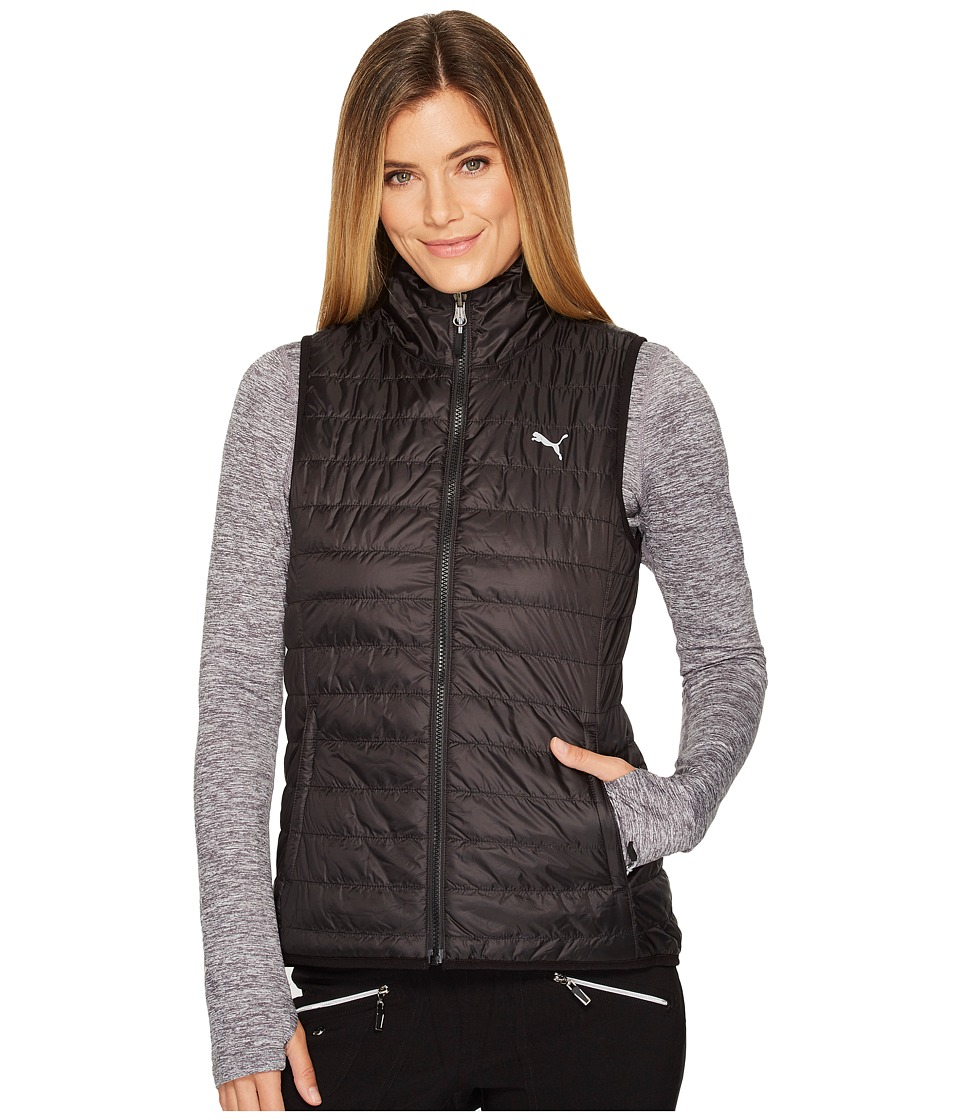 PUMA Golf - PWRWARM Reversible Vest (Black) Womens Vest