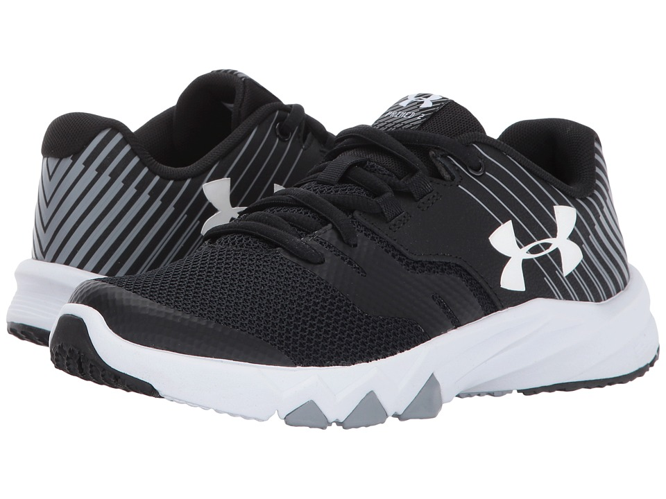 Under Armour Kids UA BGS Primed 2 (Big Kid) (Black/Steel/White) Boys Shoes
