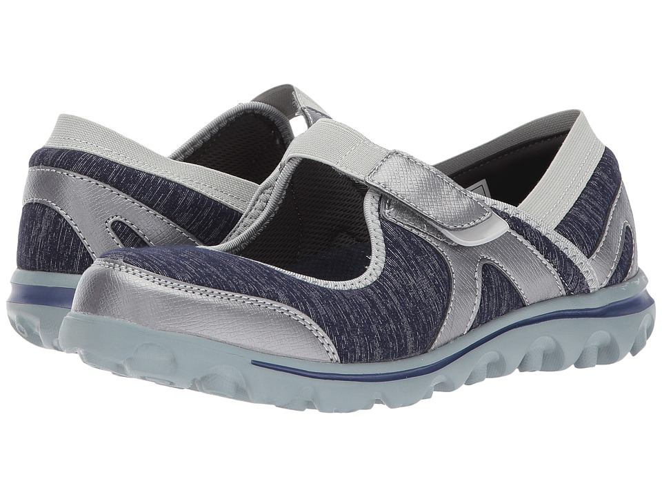 Propet Onalee (Blue/Silver) Women's Shoes