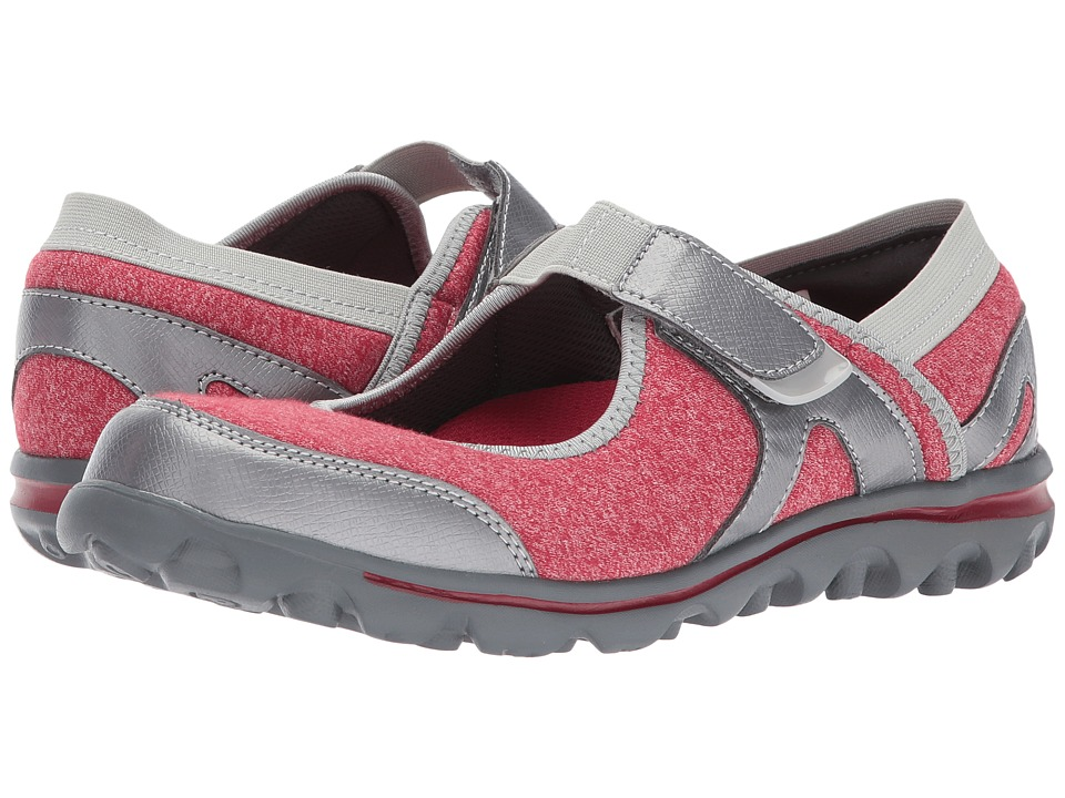 Propet Onalee (Red/Silver) Women's Shoes
