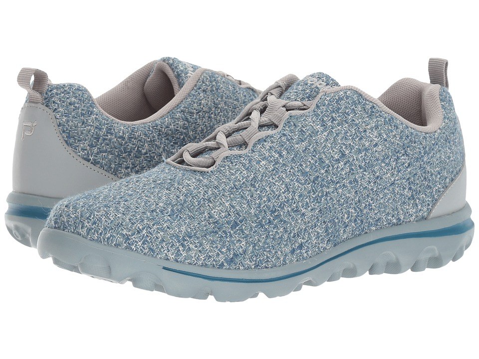 Propet TravelActiv (Denim/Grey) Women's Shoes
