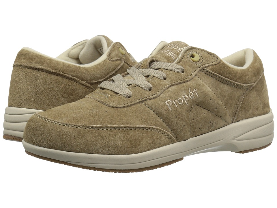 Propet - Washable Walker Medicare/HCPCS Code = A5500 Diabetic Shoe (SR Taupe) Womens Walking Shoes