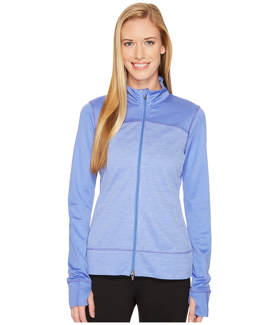 Puma Golf - Colorblock Full Zip Jacket (Baja Blue) Women'...