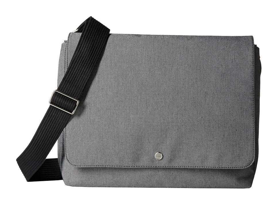 Skagen Eric Messenger (Gray) Messenger Bags