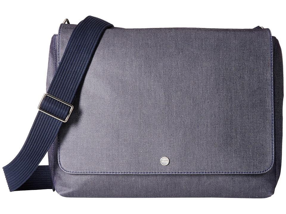 Skagen Eric Messenger (Blue) Messenger Bags