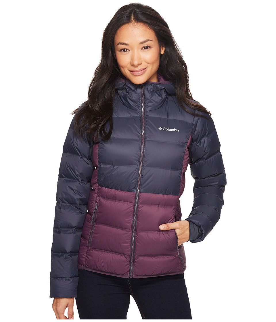 Columbia Explorer Falls Hooded Jacket (Dusty Purple/India Ink) Women
