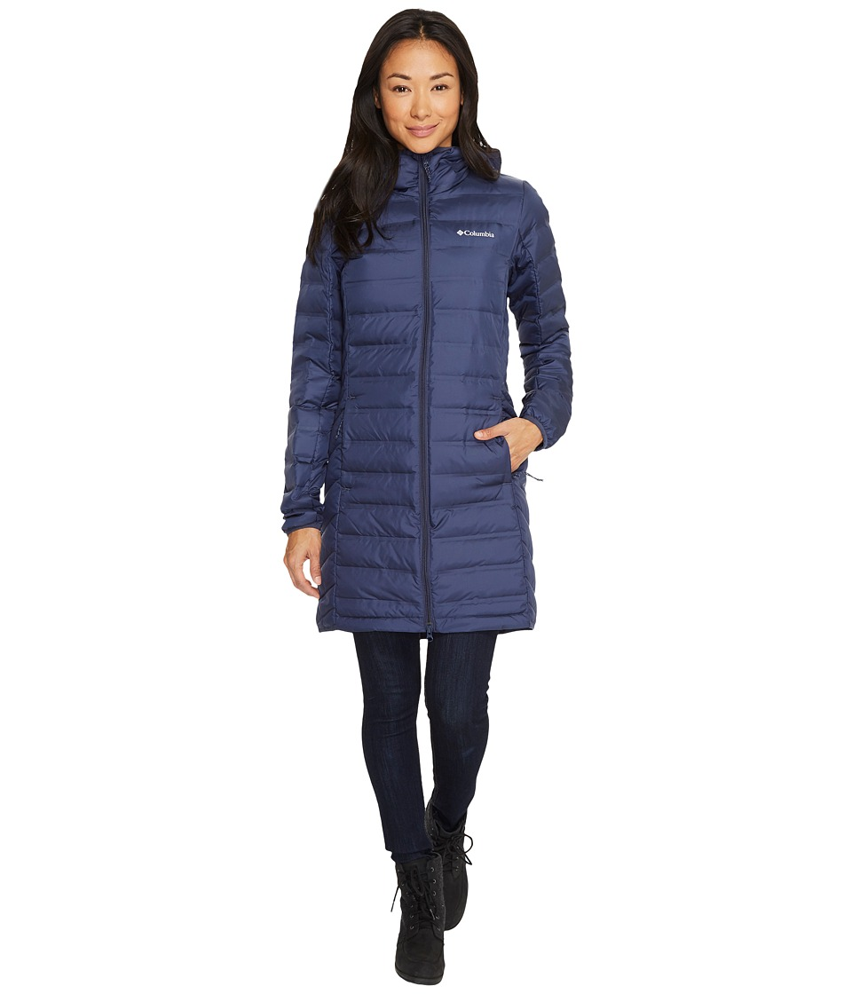 Columbia Lake 22 Long Hooded Jacket (Nocturnal) Women