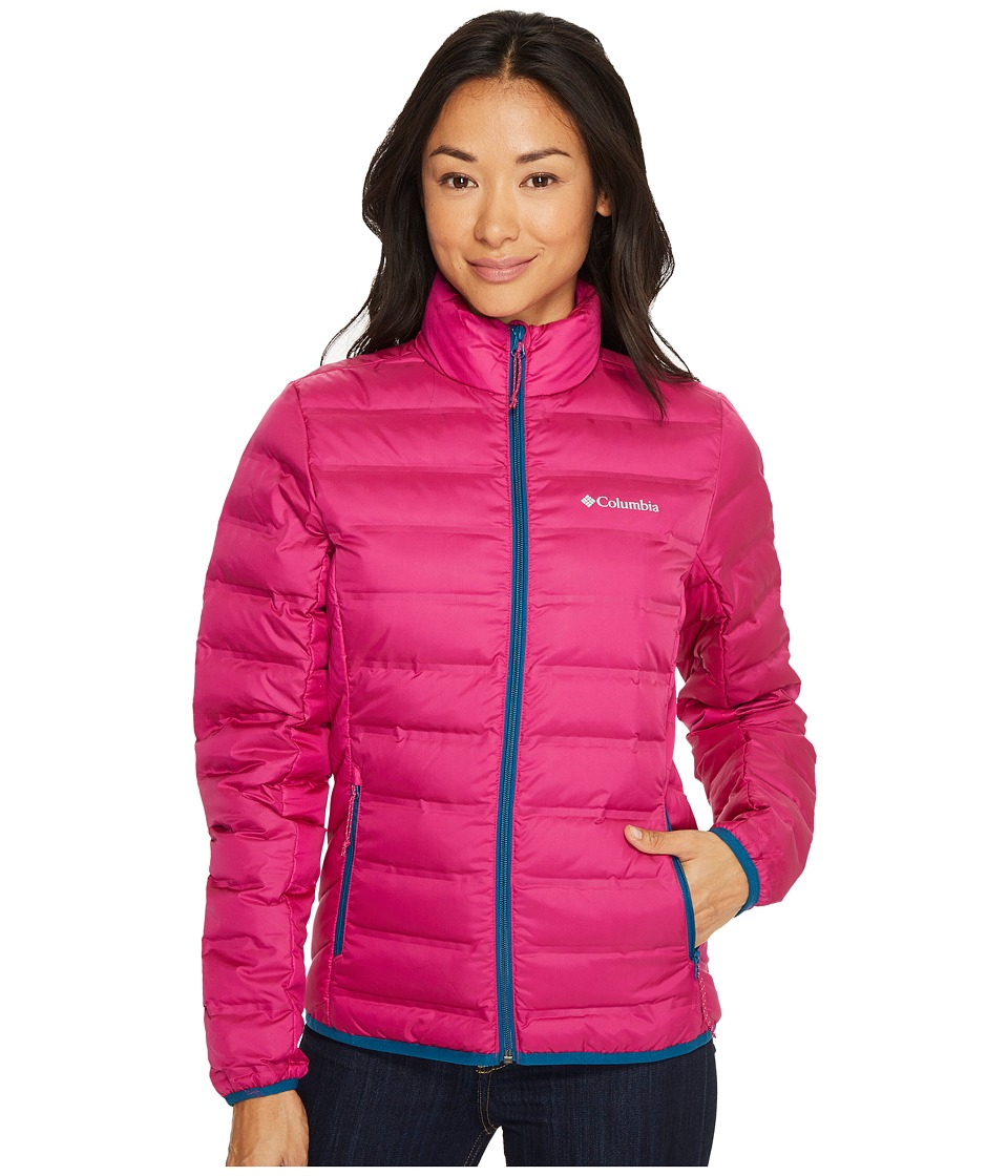 Columbia Lake 22 Jacket (Deep Blush/Phoenix Blue) Women