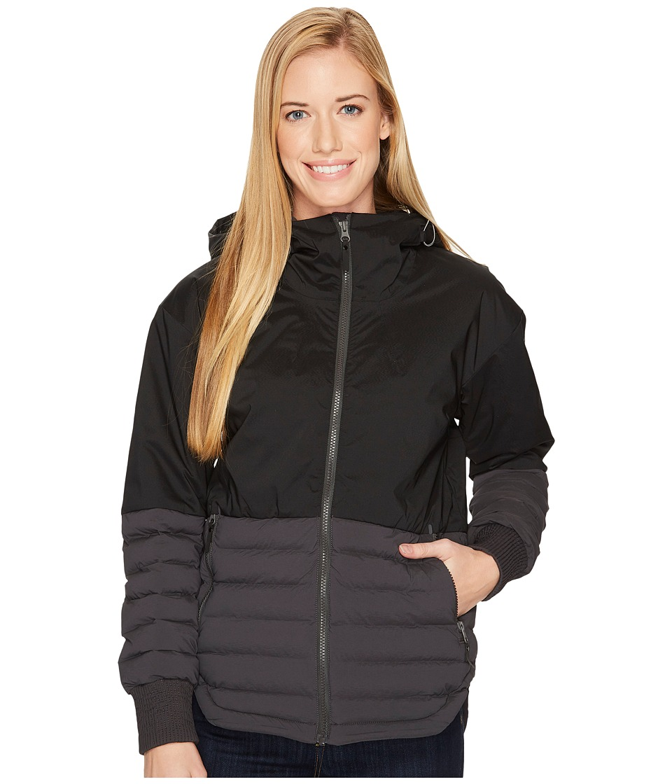 Columbia Open Site Hybrid Hooded Jacket (Black/Shark) Women