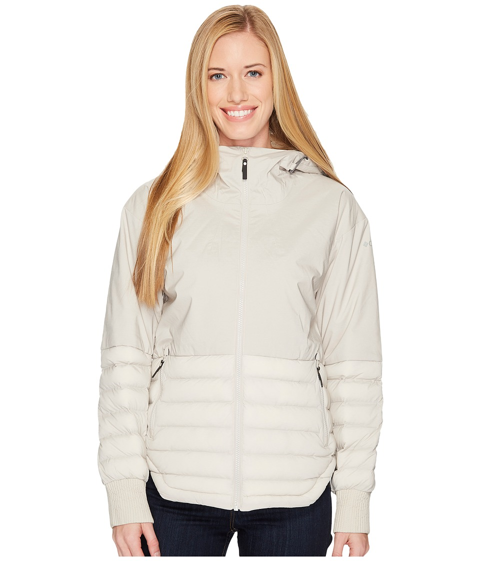 Columbia Open Site Hybrid Hooded Jacket (Light Cloud) Women