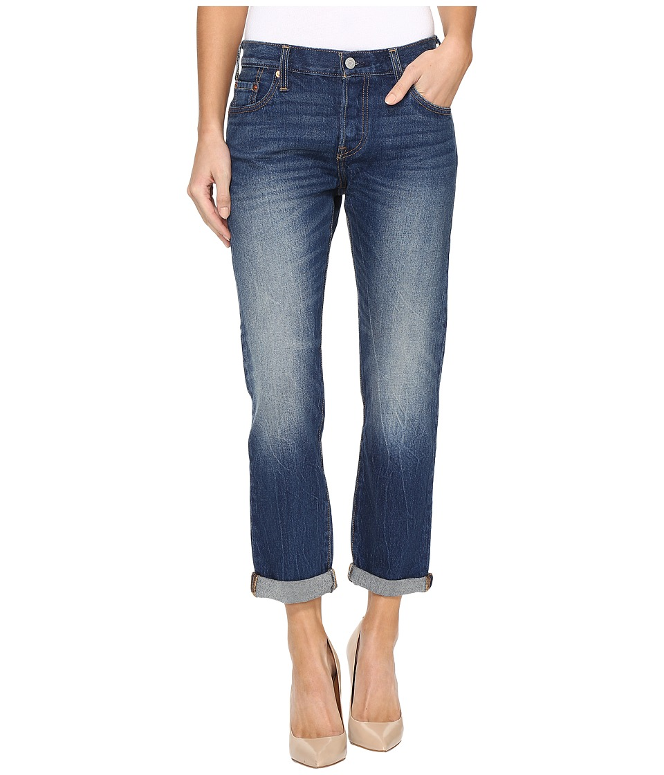 Levis(r) Womens - Premium 501 Customized and Tapered Jeans (Roasted Indigo) Womens Jeans
