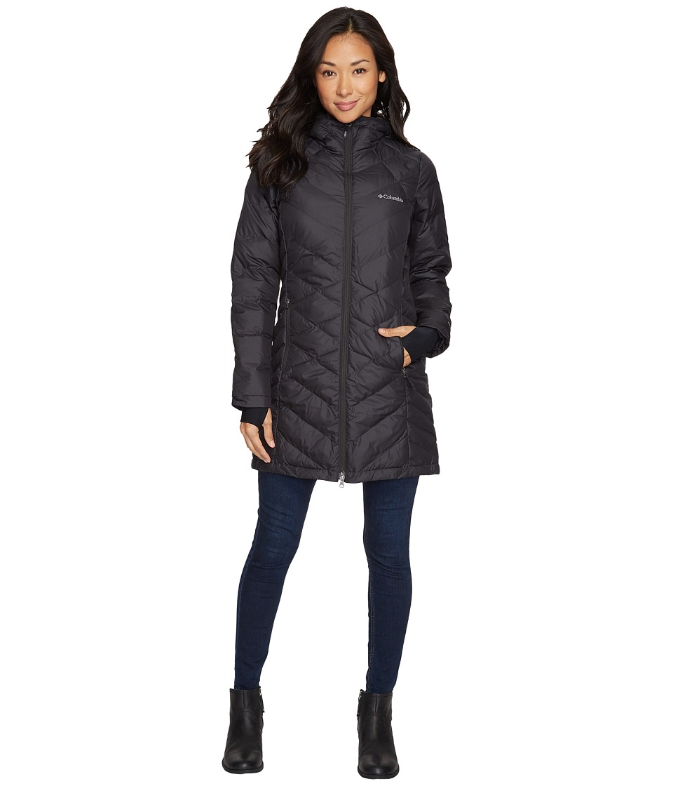 Columbia Heavenly Long Hooded Jacket (Black) Women