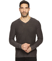 Lucky Brand - Spring Weight Slub V-Neck