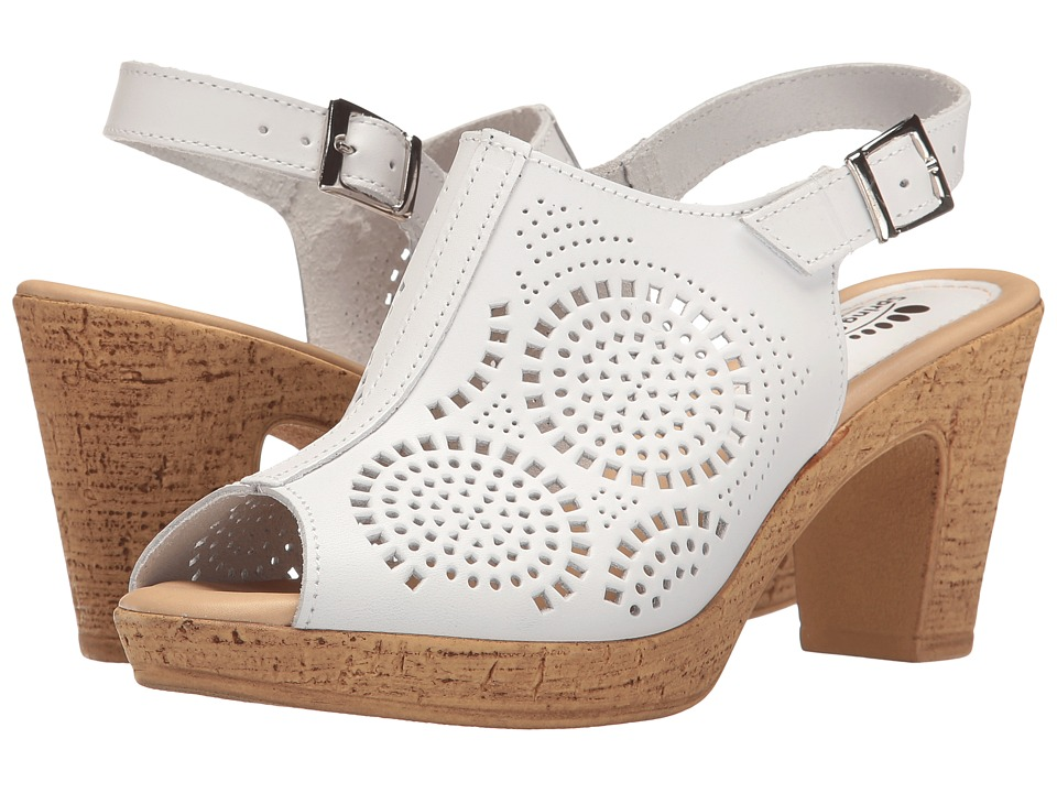 Spring Step Liberty (White) Women's Shoes