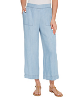B Collection by Bobeau - Lennon Tencel Wide Leg Crop Pants