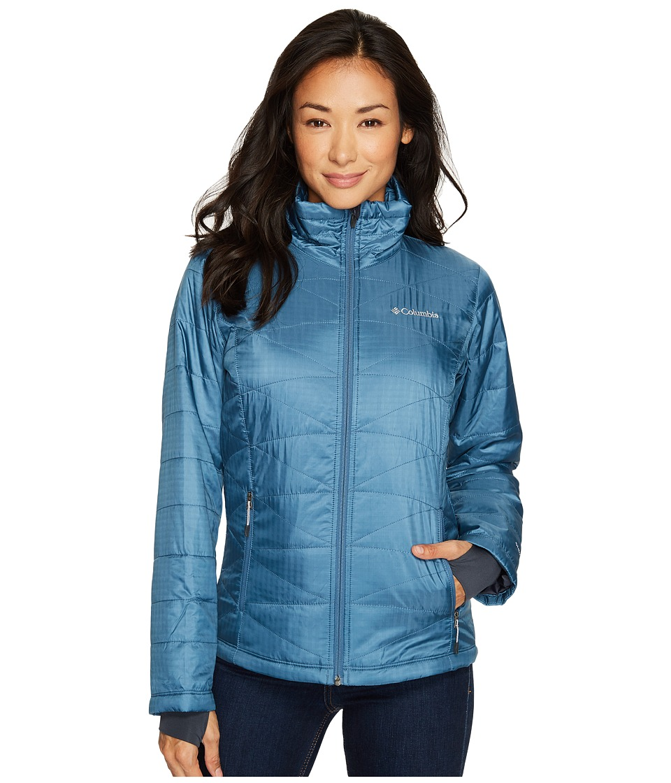 Columbia Mighty Litetm III Jacket (Blue Heron) Women
