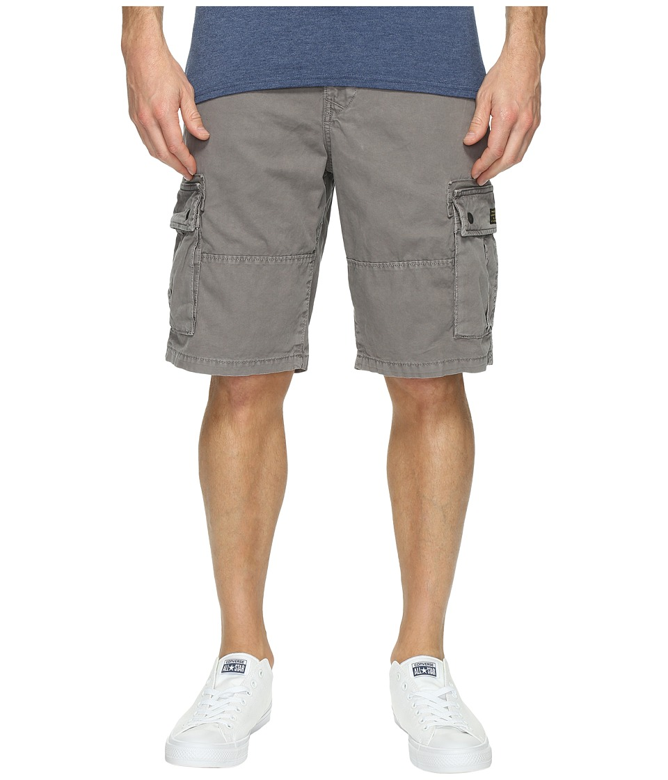 Lucky Brand Core Cargo Shorts (Charcoal Grey) Men