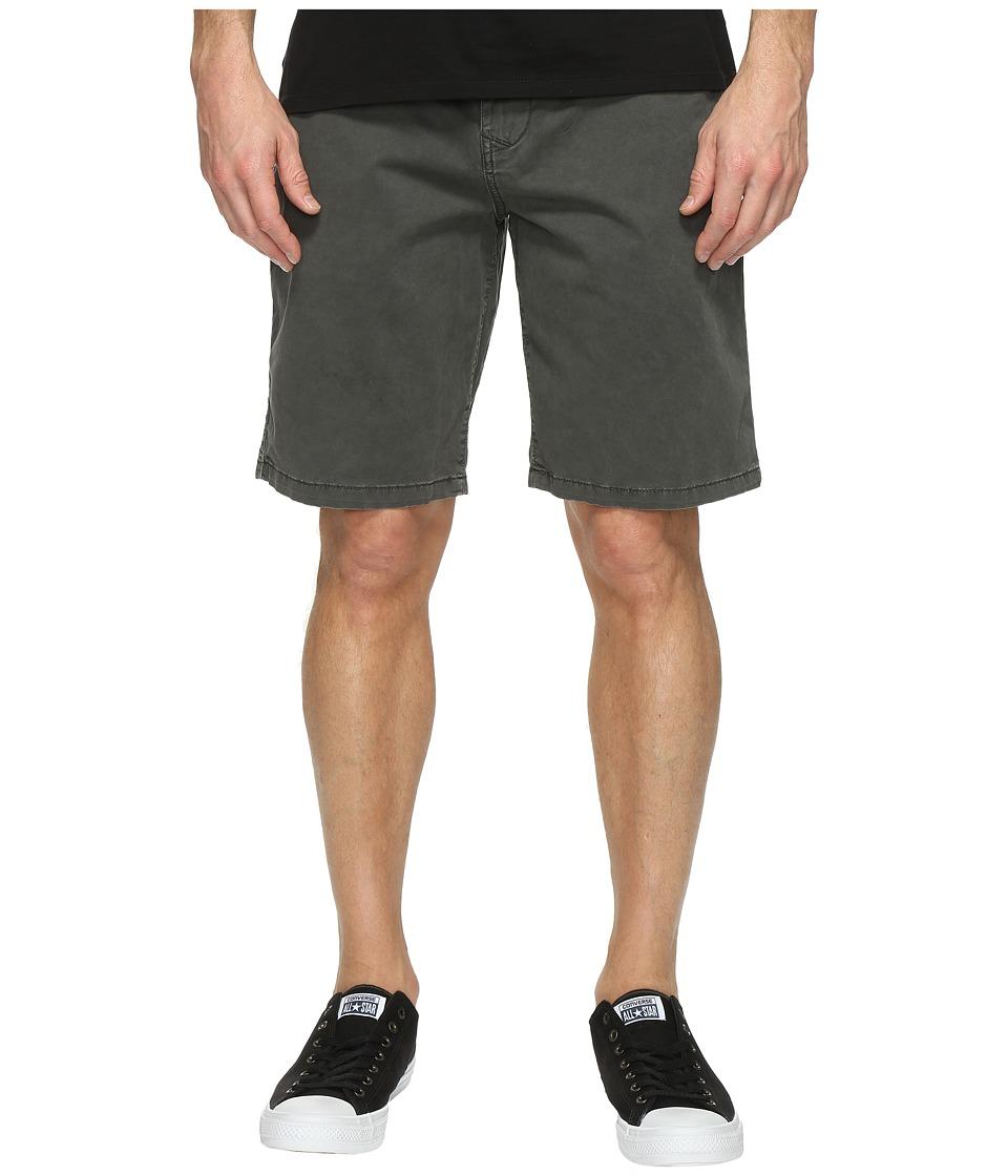 Lucky Brand Comfort Stretch Shorts (Raven) Men