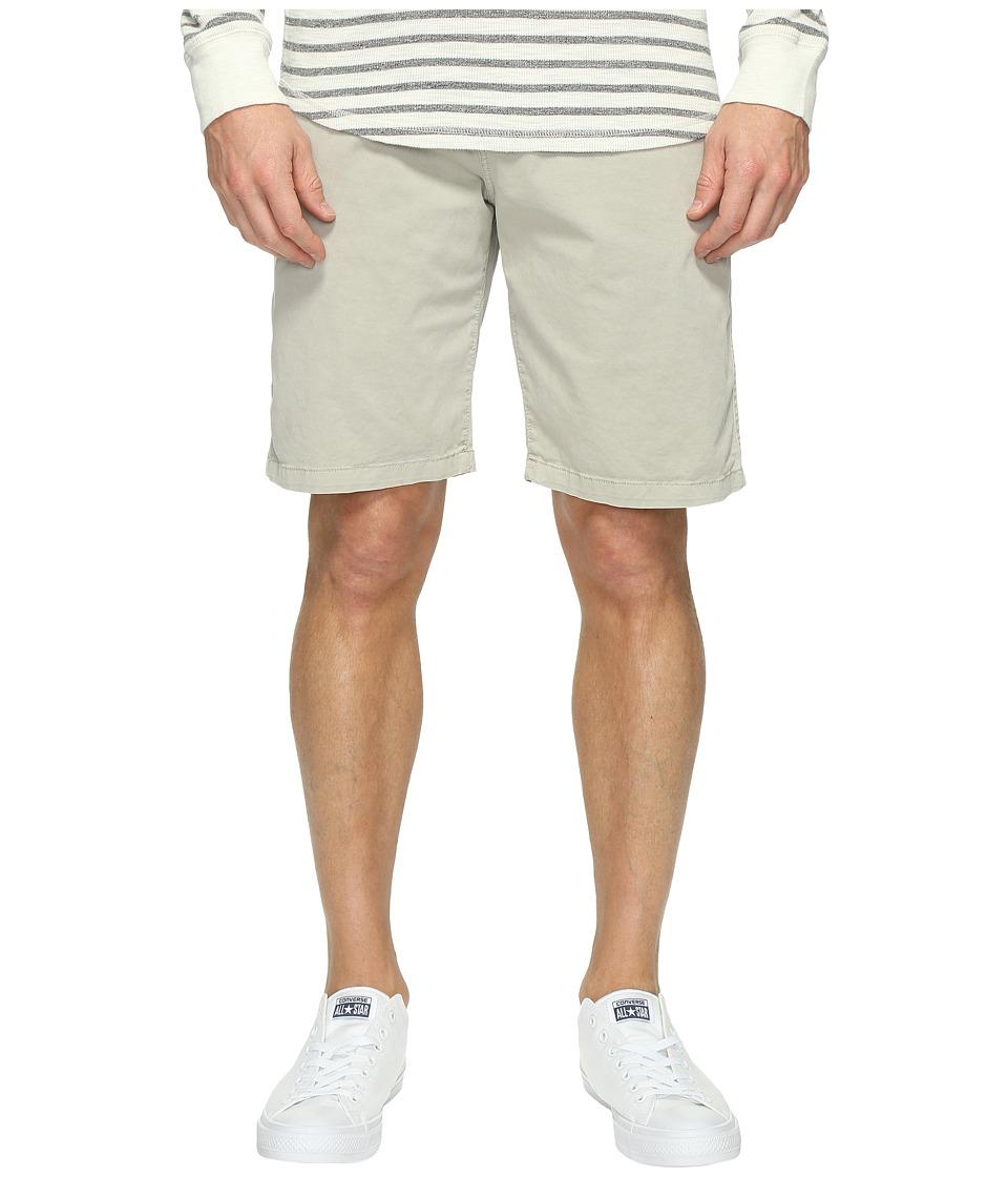 Lucky Brand Comfort Stretch Shorts (Silver Birch) Men