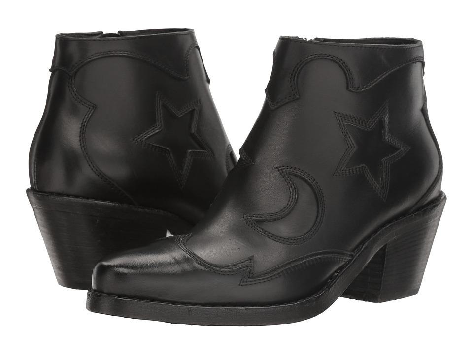McQ Solstice Zip Boot (Black) Women