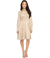 London Times - Suede Shirtdress