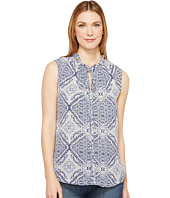B Collection by Bobeau - Dahlia Printed Blouse