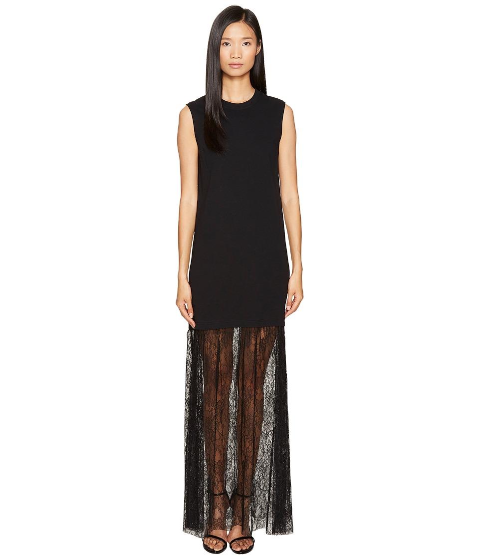 McQ - Lace Mix Maxi Dress