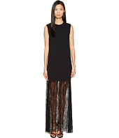 McQ - Lace Mix Maxi Dress