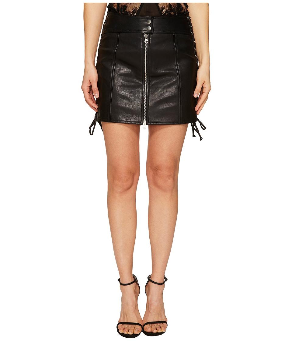 McQ McQ - Eyelet Biker Skirt
