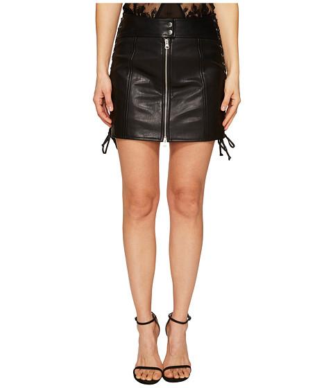McQ Eyelet Biker Skirt