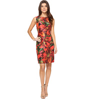 Tahari by ASL - Shantung Printed Sheath Dress