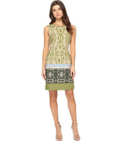 Tahari by ASL - Ikat Linen Sheath Dress