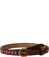 Fossil - Embroidered Stripe Belt