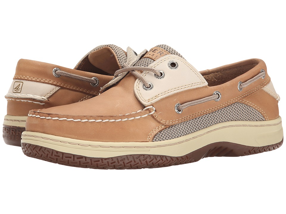 Sperry Top Sider Billfish 3 Eye Boat Shoe Tan/Beige Mens Lace up casual Shoes