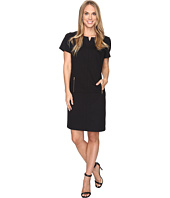 Tahari by ASL - Zipper Accented Shift Dress