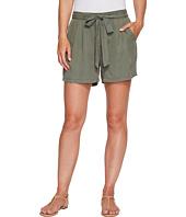 B Collection by Bobeau - Bianca Self Belt Shorts