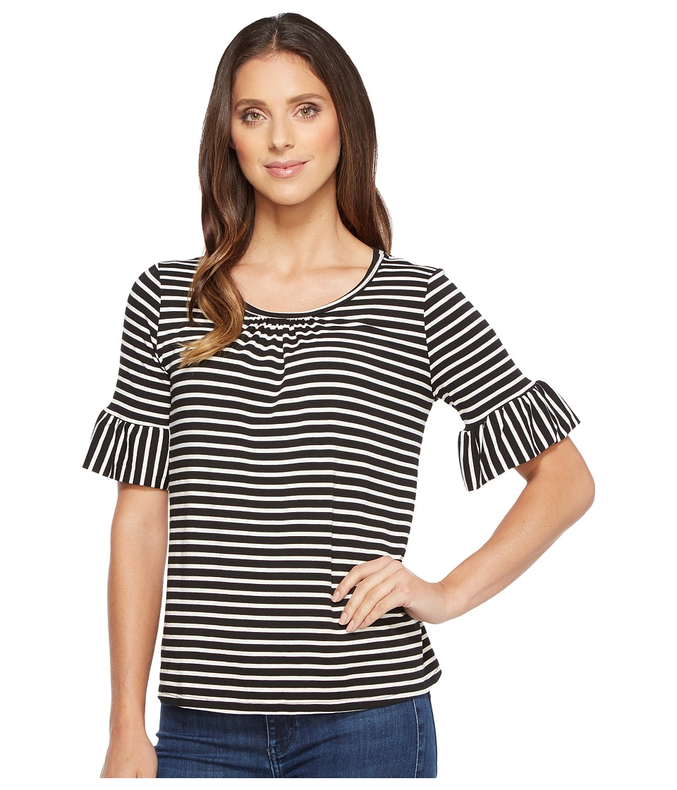 B Collection by Bobeau - Ellie Soft Flute Sleeve Knit Top