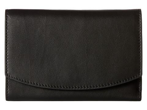 Skagen Compact Flap Wallet - Black