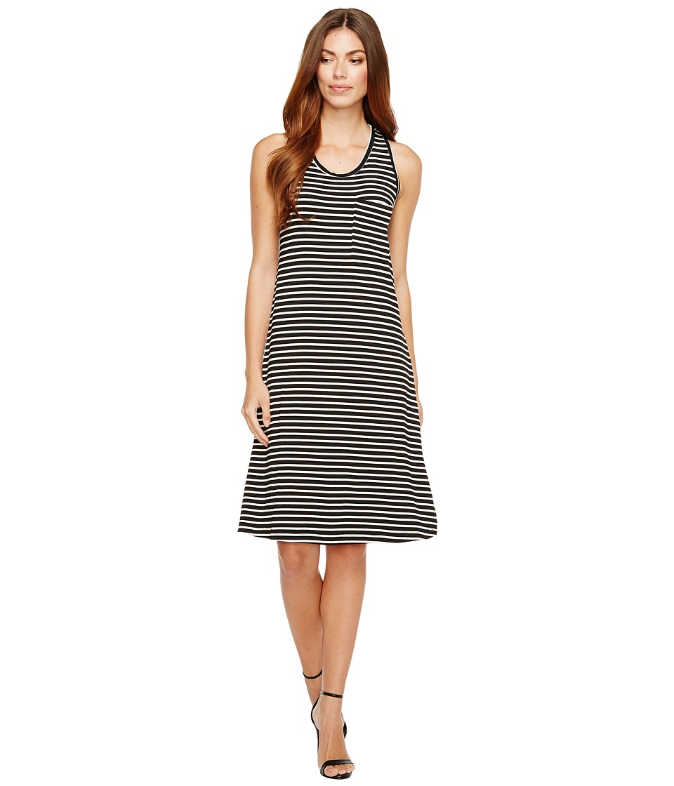 B Collection by Bobeau Maxi Dress (Stripe) Women