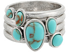 Lucky Brand - Turquoise Stack Ring II