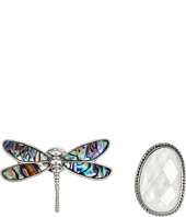 Lucky Brand - Dragonfly Pin Ring Set