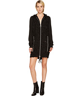 Versace Jeans - Zip Front Hooded Dress