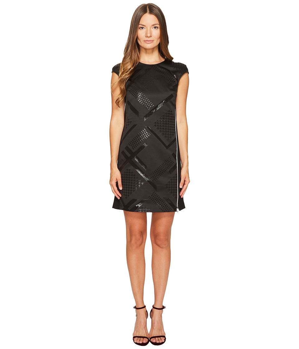 Versace Jeans Sleeveless Geo Dress (Nero) Women