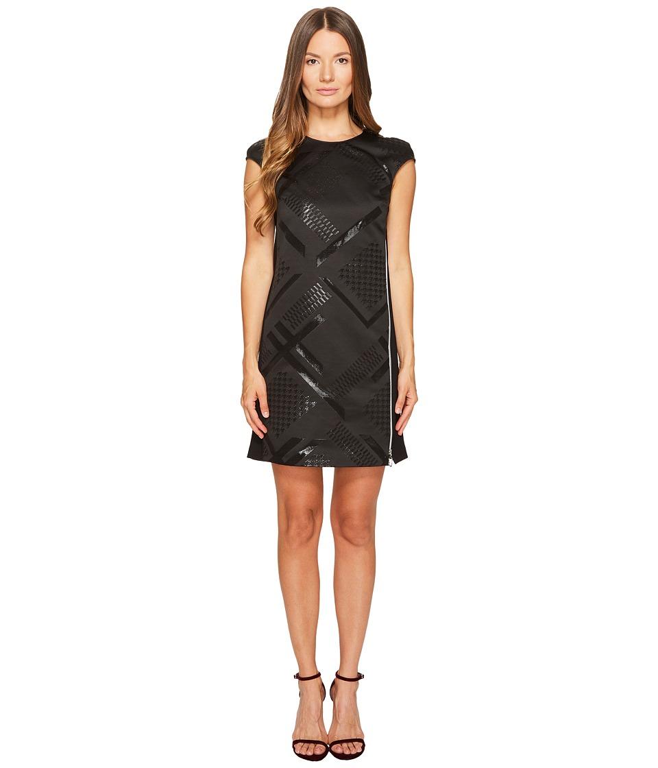 Versace Jeans Sleeveless Geo Dress (Nero) Women