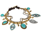 Lucky Brand - Turquoise Charm Bracelet