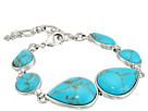Turquoise Link Bracelet II