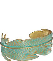 Lucky Brand - Patina Feather Cuff Bracelet