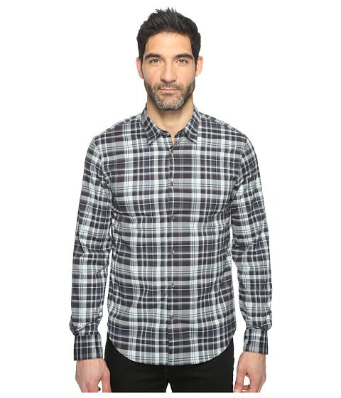 John Varvatos Star U.S.A. Mayfield Slim Fit Sport Shirt with Contrast Turnback Placket W434T1L