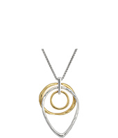 Lucky Brand - Hoop Trio Pendant Necklace