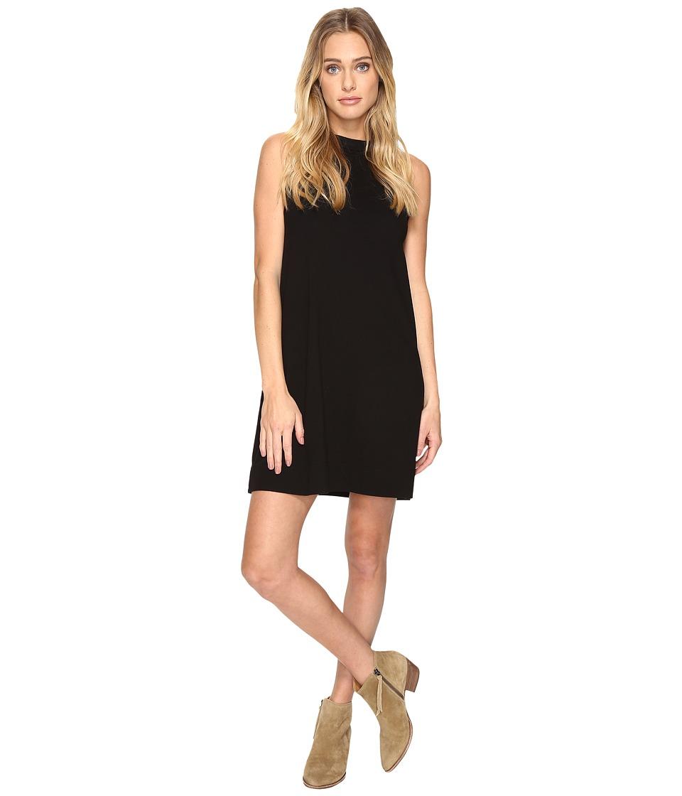 Three Dots Sleveless Muscle Dress (Black) Women